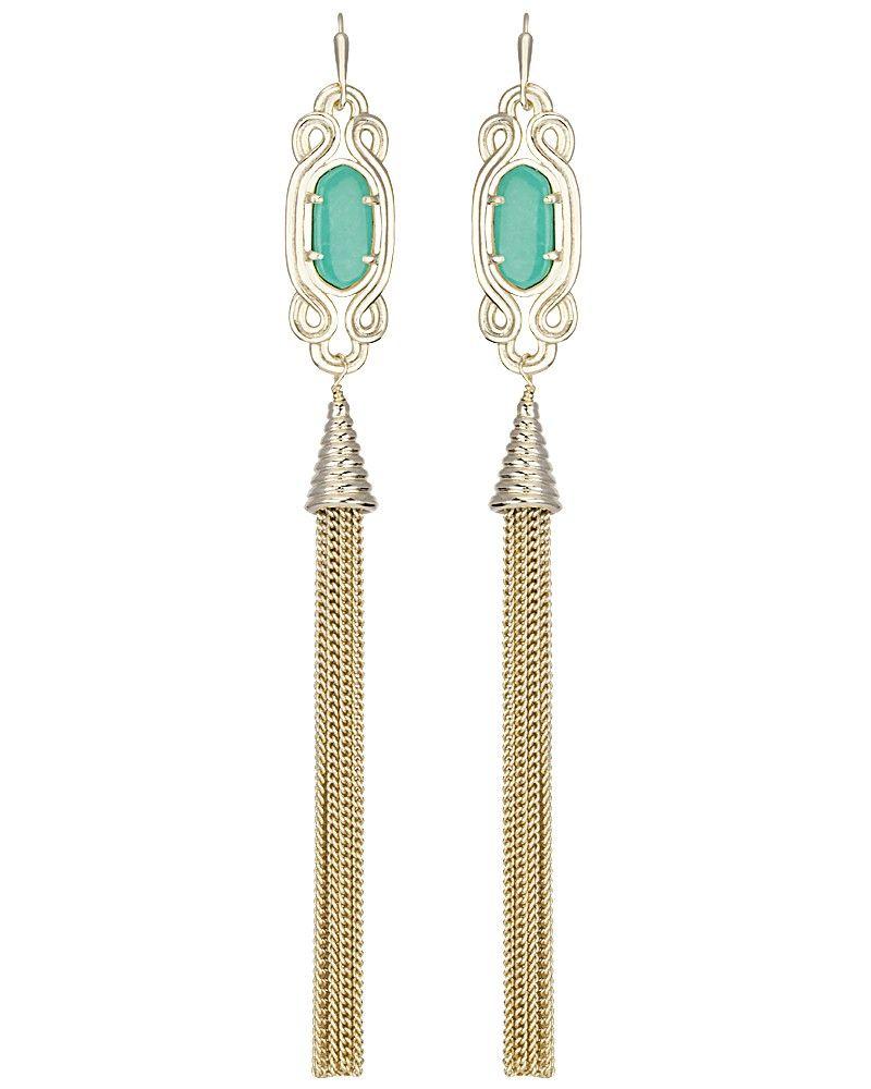 1c1910add Erin long tassel earrings by Kendra Scott | Amazing Accessories ...