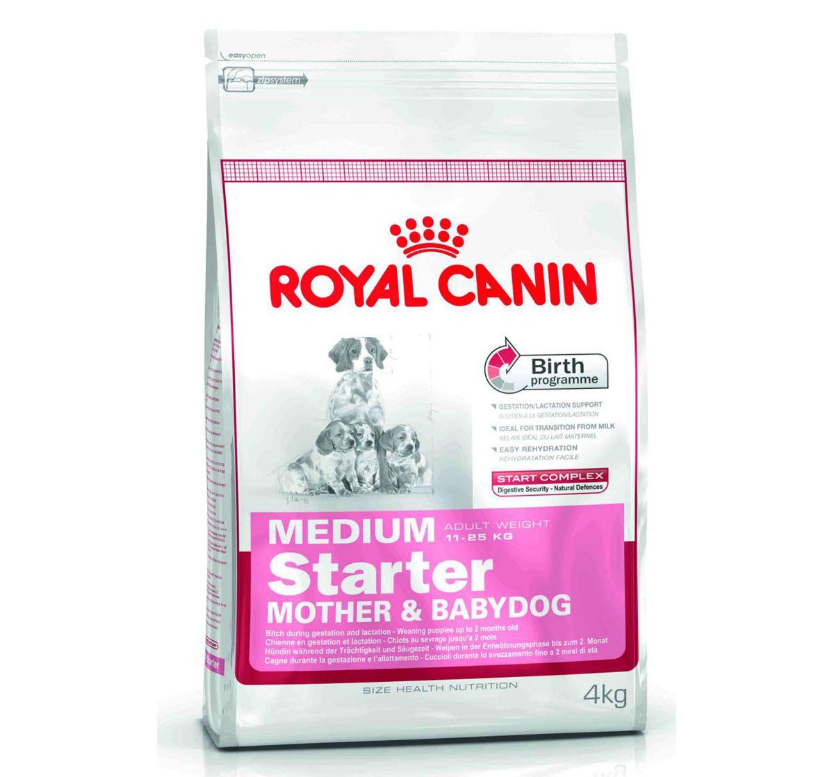 Royal Canin Medium Starter 4 Kg Online Pet Shop Pinterest