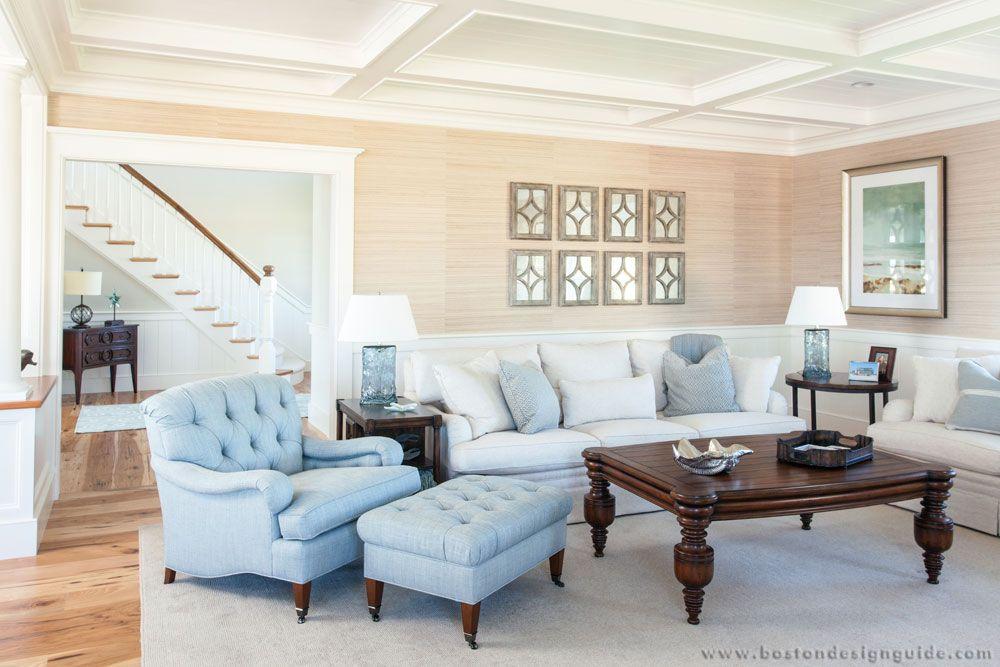 Rick Roy Construction  Residential Design Build Firm In Custom Living Room Boston Design Inspiration Design