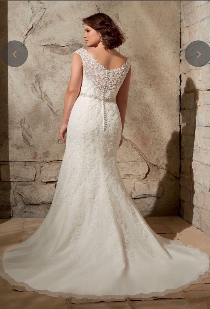 220a33d7c66 Morilee By Madeline Gardner Wedding Dress Size 24 in 2018