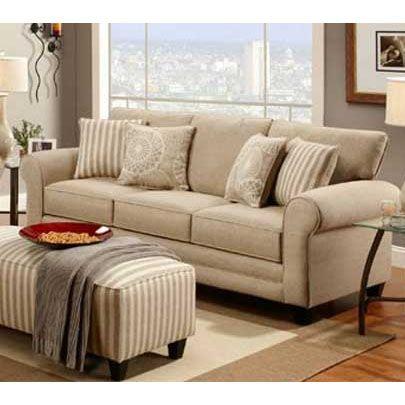 Fusion Khaki Sofa Furniture, Furniture Warehouse Champaign Il
