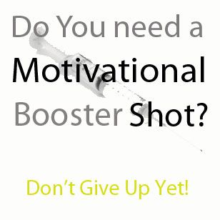 Need a motivational booster shot? Get help staying the