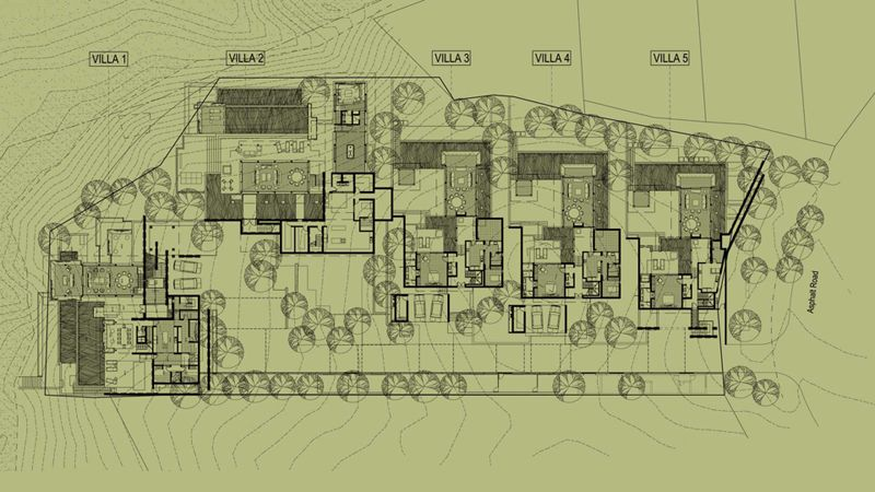 Site Plan Laemsingh Villas Bedmier Shi Bedmar And Shi Pinterest Site Plans Villas And