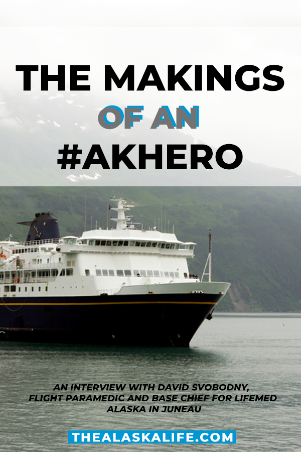 Interviewing a LifeMed Alaska Flight Paramedic…Making an