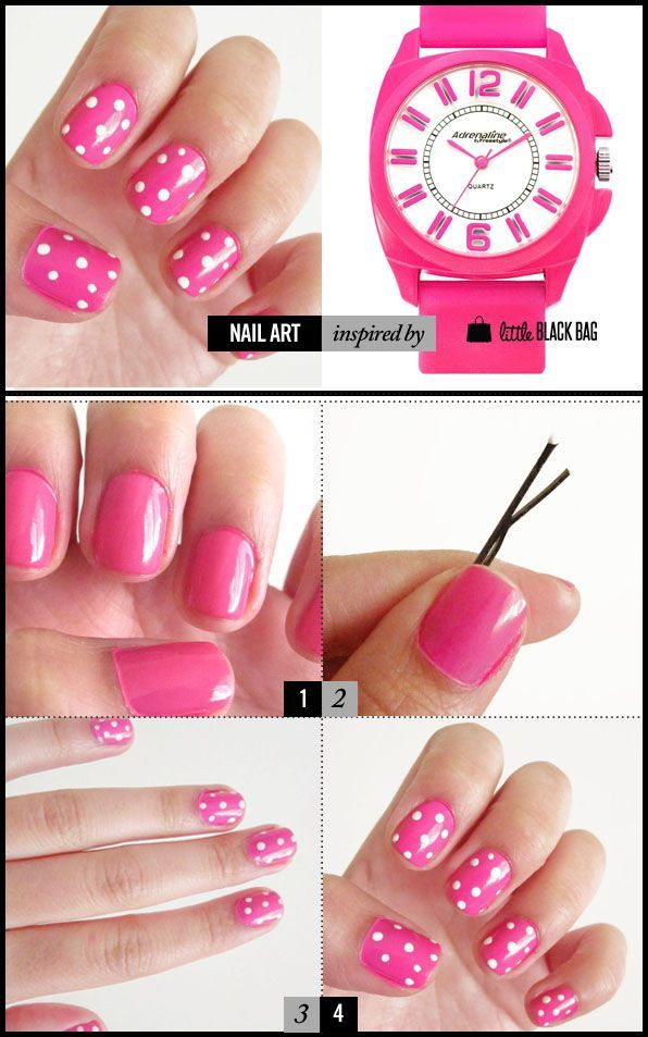 11 Cute Nail Tutorials You Won\'t Miss | Dotting tool, Household ...
