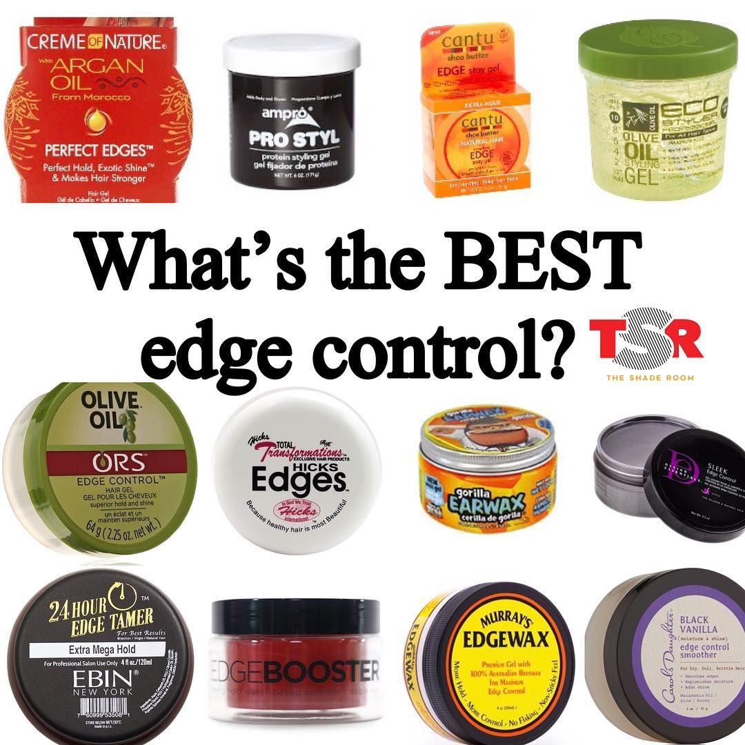 Let S Settle This Once And For All What S The Best Edge Control To Have Your Baby Hairs Laaiiidddddd Best Edge Control Edge Control Baby Hairstyles