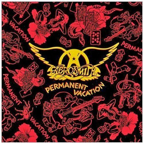 Aerosmith Permanent Vacation 180 Gram Reissue L P Capas De Albuns De Rock Capas De Albuns Aerosmith