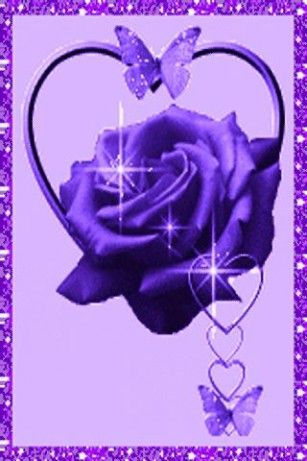 Purple Roses And Butterflies Download Purple Rose Butterflies Lwp