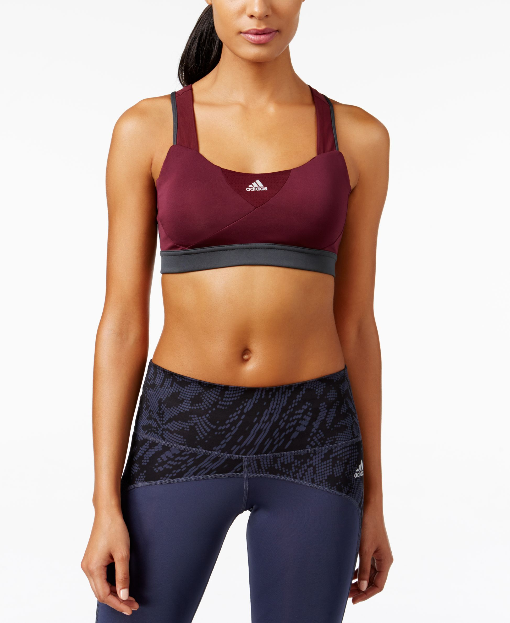 adidas climacool high support sports bra