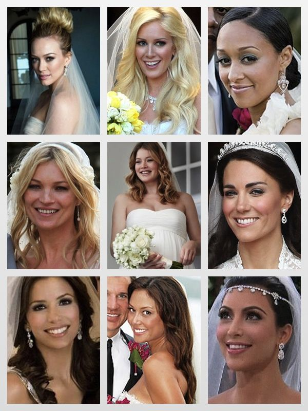 Amazing Celebrity Wedding Makeup Looks Remember If You Need Hair Done For