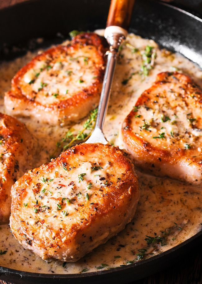 Make These Pork Chops in Creamy Garlic Sauce for Dinner This recipe helps walk you through some of