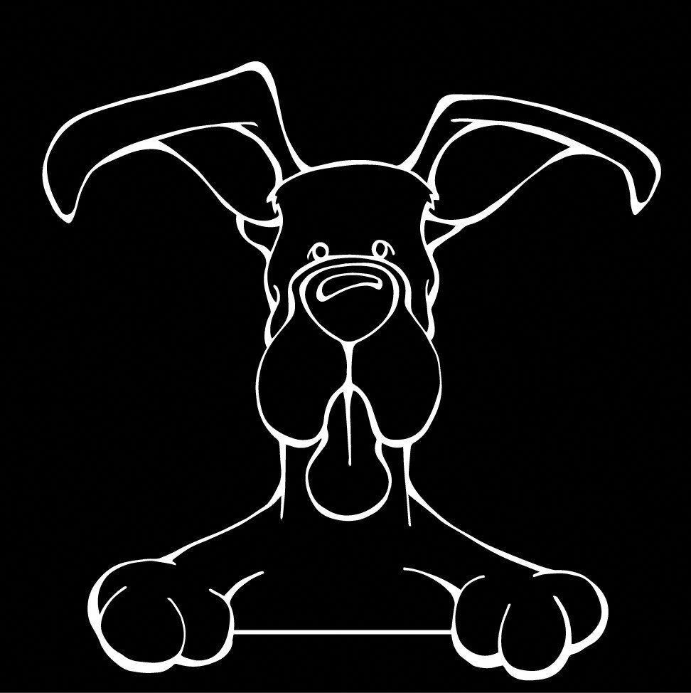 The Decal Dog Of The Day The Great Dane Show Off Your Love For