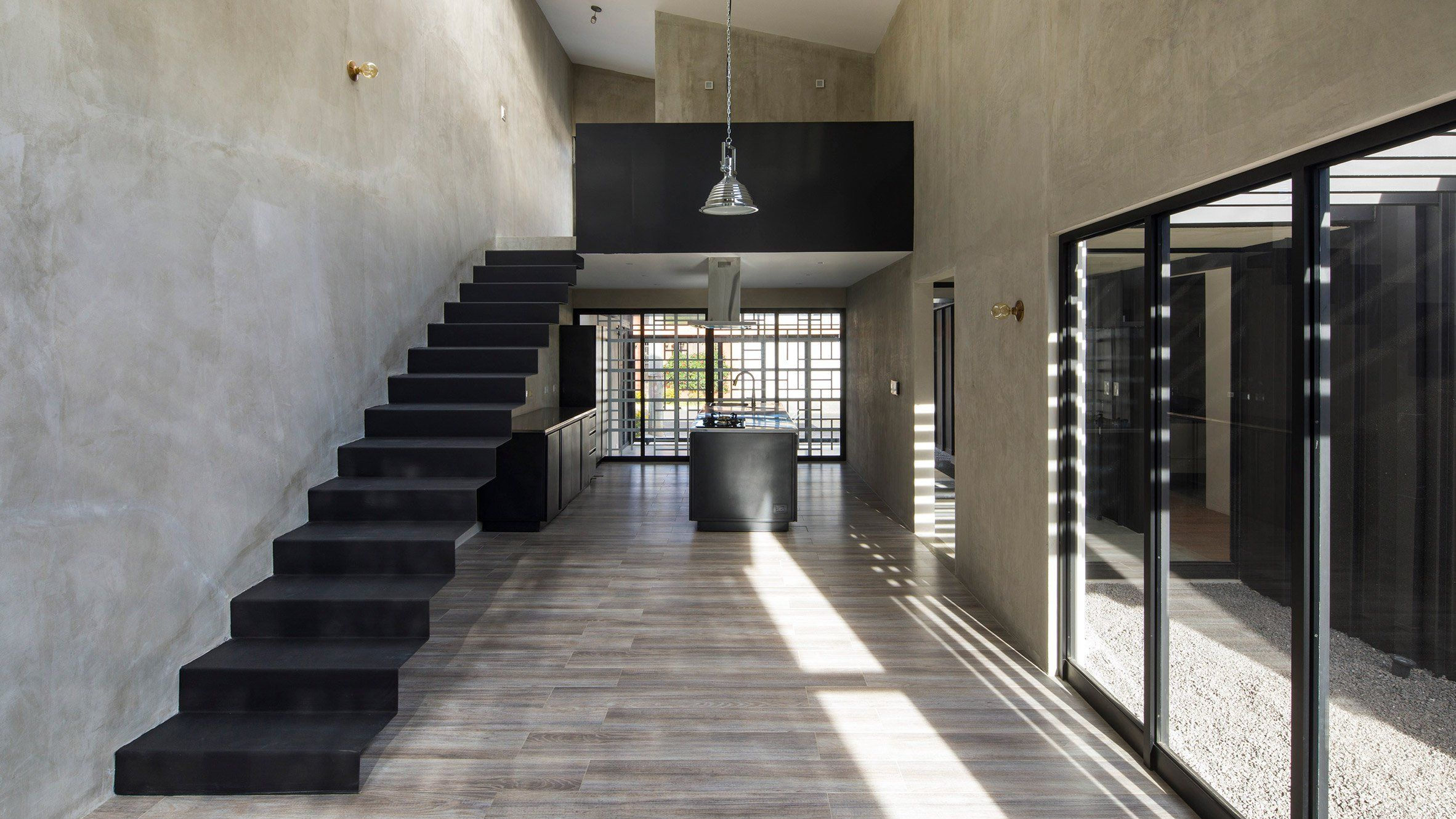 Concrete stairs in private homes. Decorating concrete stairs do it yourself 56