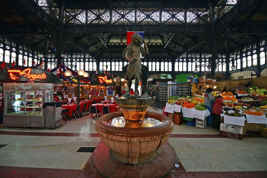 Mercado Central - santiago365 | Economia, Chile, Viajes