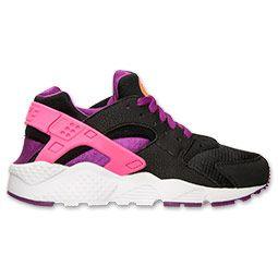 Girls  Grade School Nike Huarache Run Running Shoes  644753fa06de