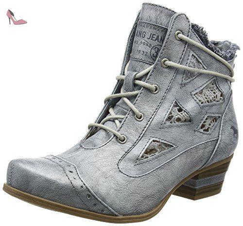 1146-302-4, Sneakers Basses Femme, Beige (Beige 4), 40 EUMustang