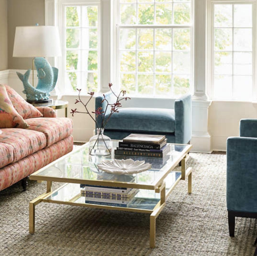 Luxe Velvet Peacock Marlow Bench Furniture in 2020