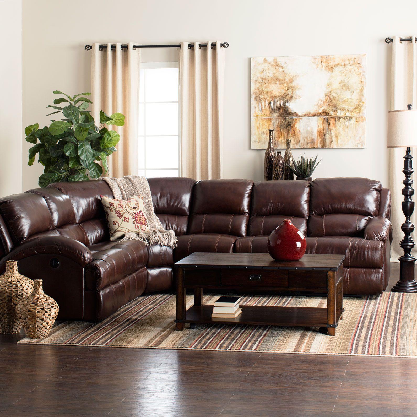 Giorgio Leather Reclining Sofa: Jerome's Furniture