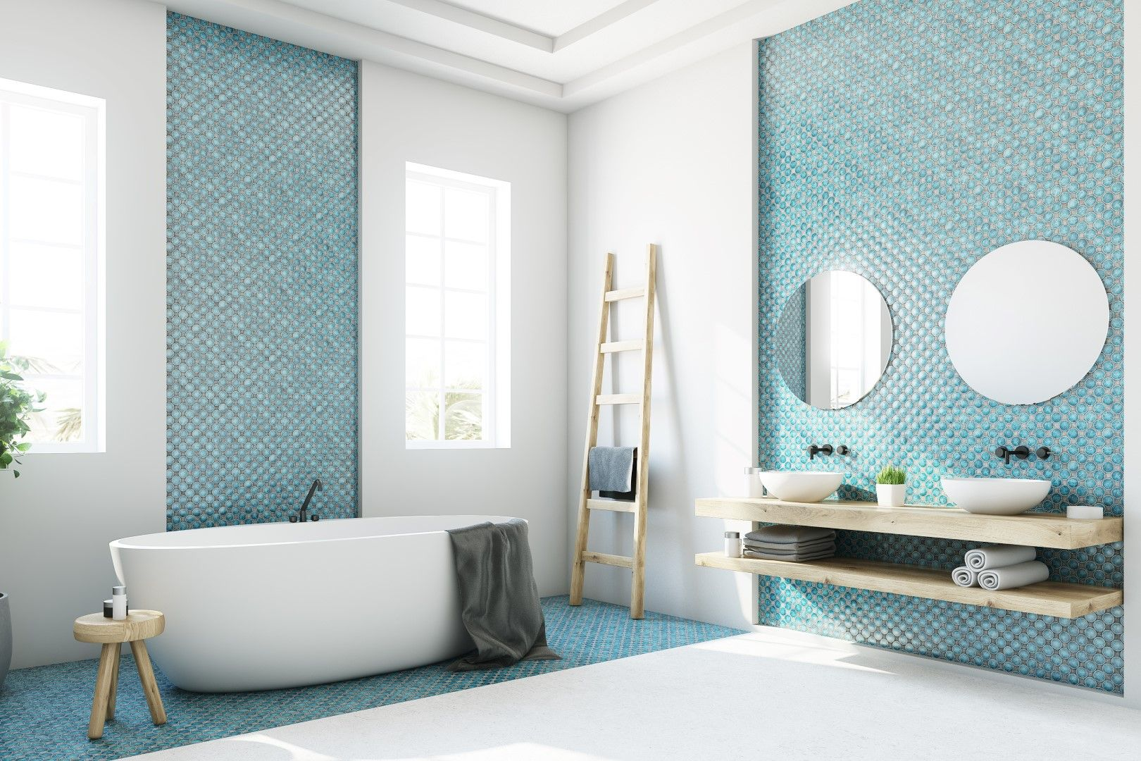 Pleasant The 6 Top Bathroom Tile Trends Of 2018 For The Home Download Free Architecture Designs Scobabritishbridgeorg