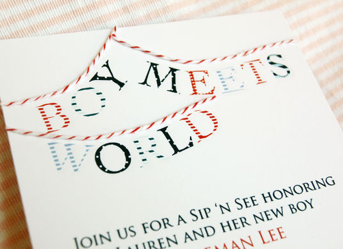 The Stir-'Welcome Baby': 14 Sweet Ideas for a 'Sip