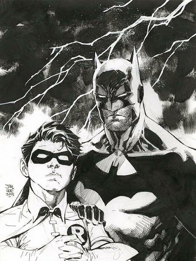 Batman & Robin by Jim Lee