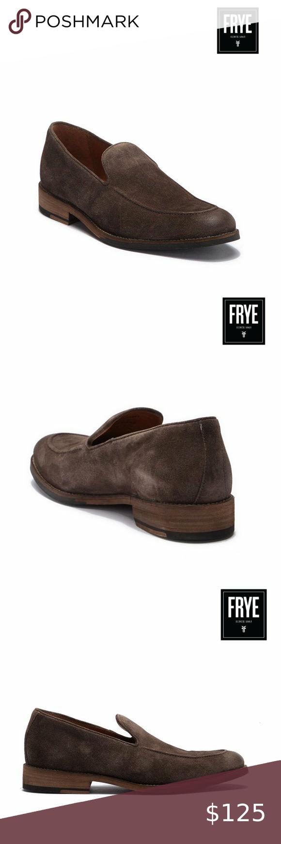 Frye Men's Venetian Suede Loafer in