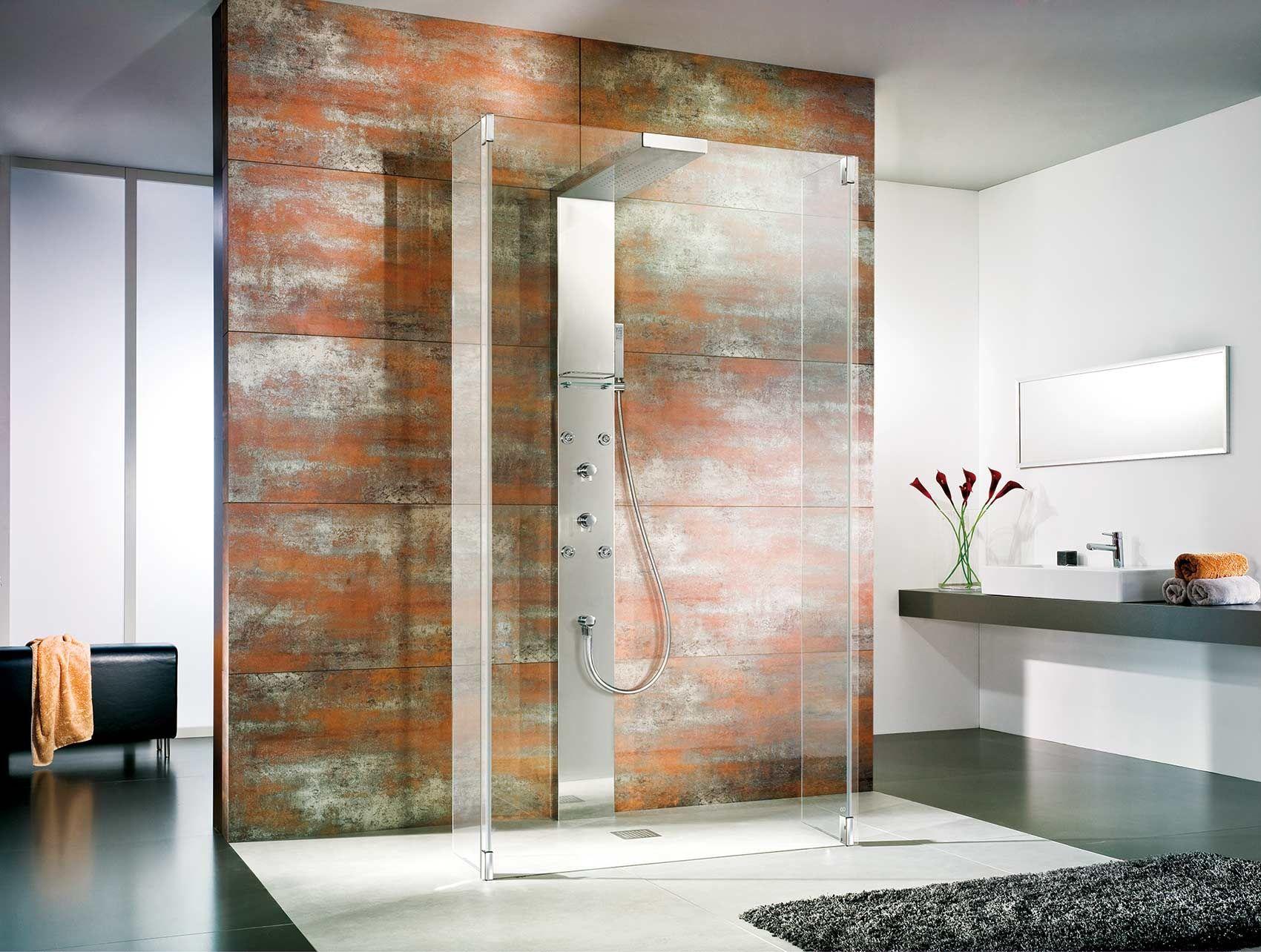Duschkabine Glas: HSK kreiert edle Duschen aus Echtglas