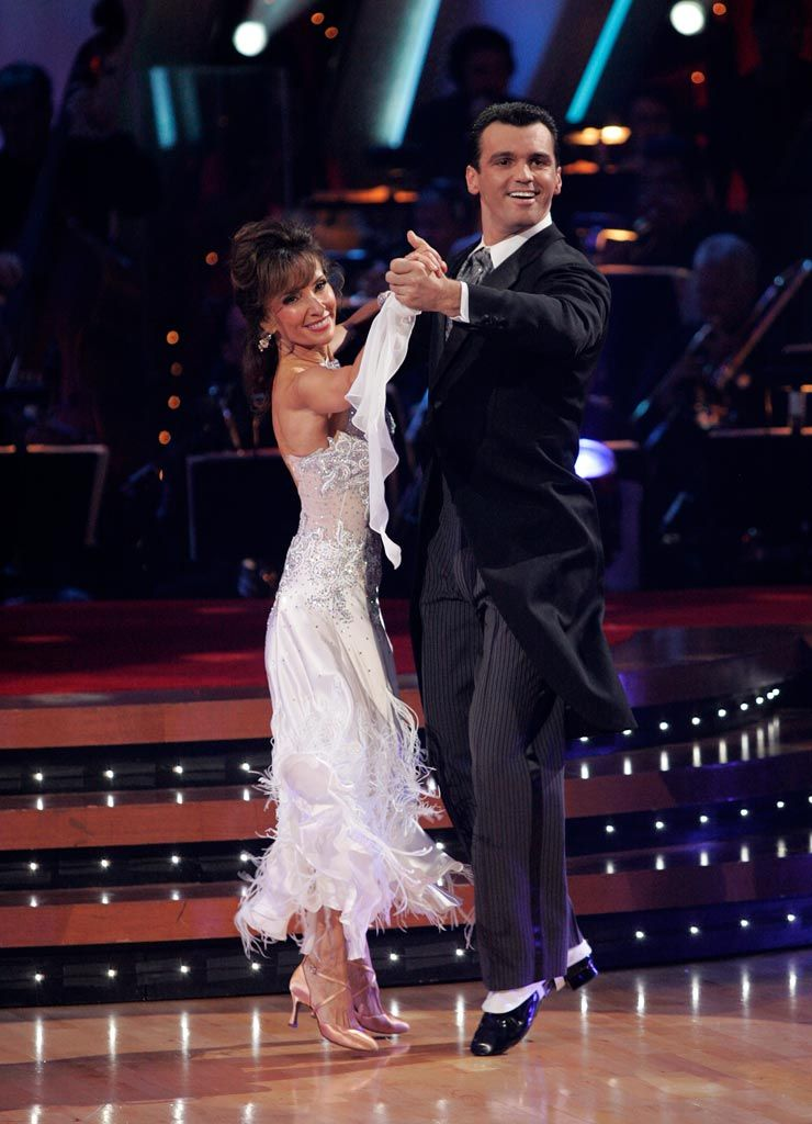 Susan Tony Quickstep Susan Lucci Dancing With The Stars Season 7