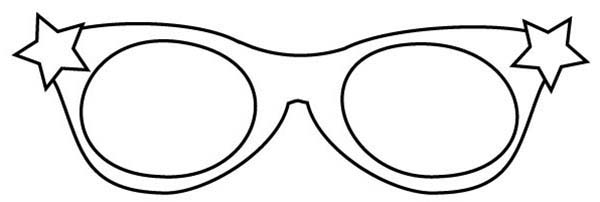 Starry Eyeglasses Coloring Pages Kids Play Color Coloring Pages Elsa Coloring Pages Mermaid Coloring Pages