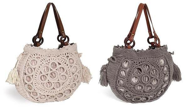 crochet bag - tutorial