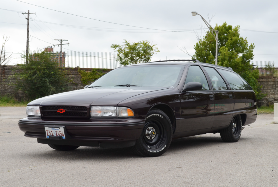 Modified 1996 Chevrolet Caprice Wagon 6 Speed Chevrolet Caprice Wagon Chevrolet
