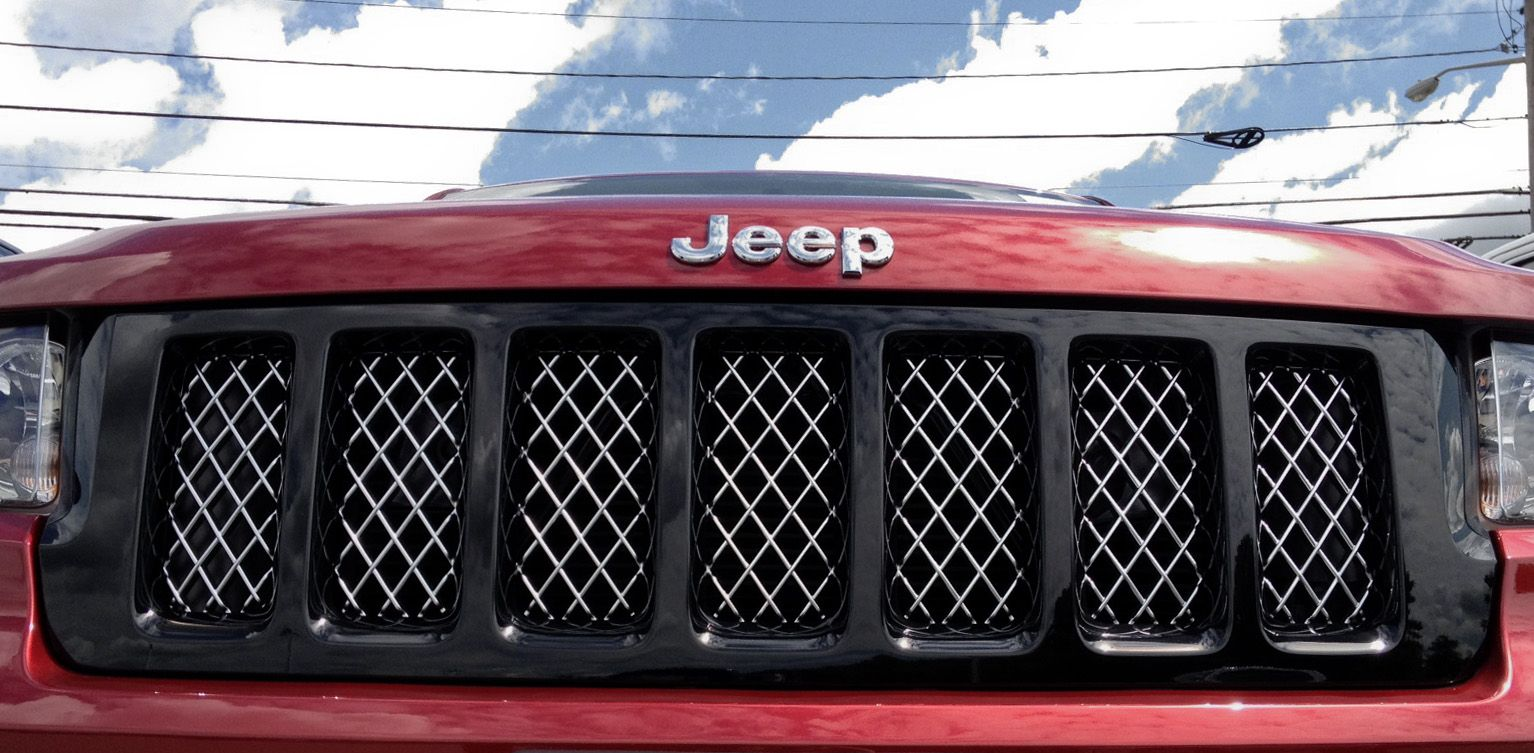 2011 2013 Wk2 Black Altitude Edition Grill Jeep Grand Cherokee Jeep 2011 Jeep Grand Cherokee