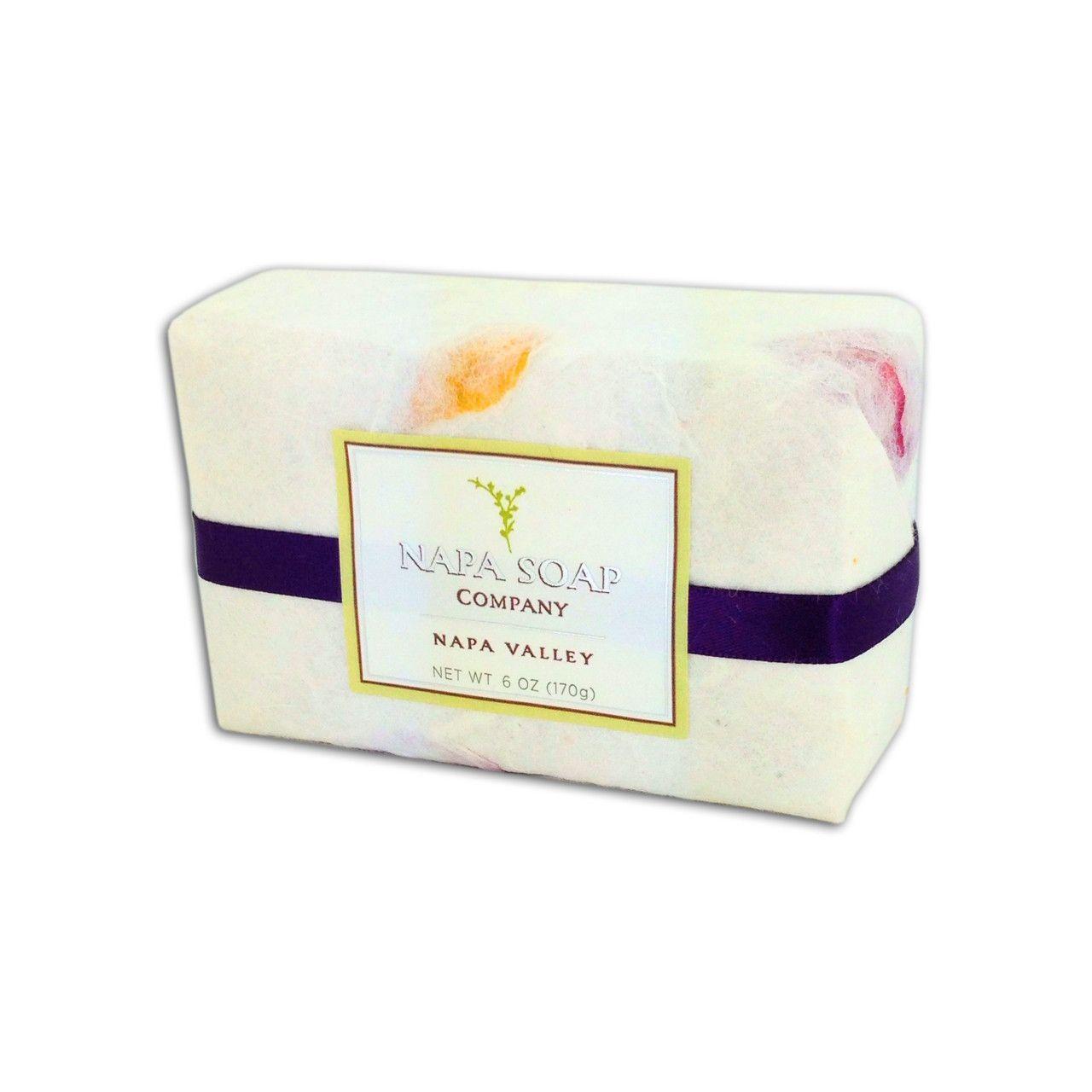 Napa Soap Company - Black Olive & Syrah Bar Soap