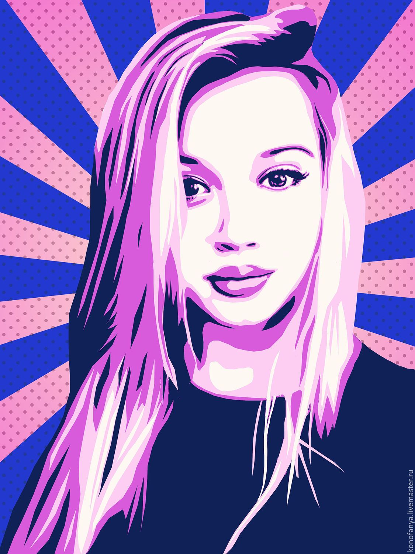 поп арт фото