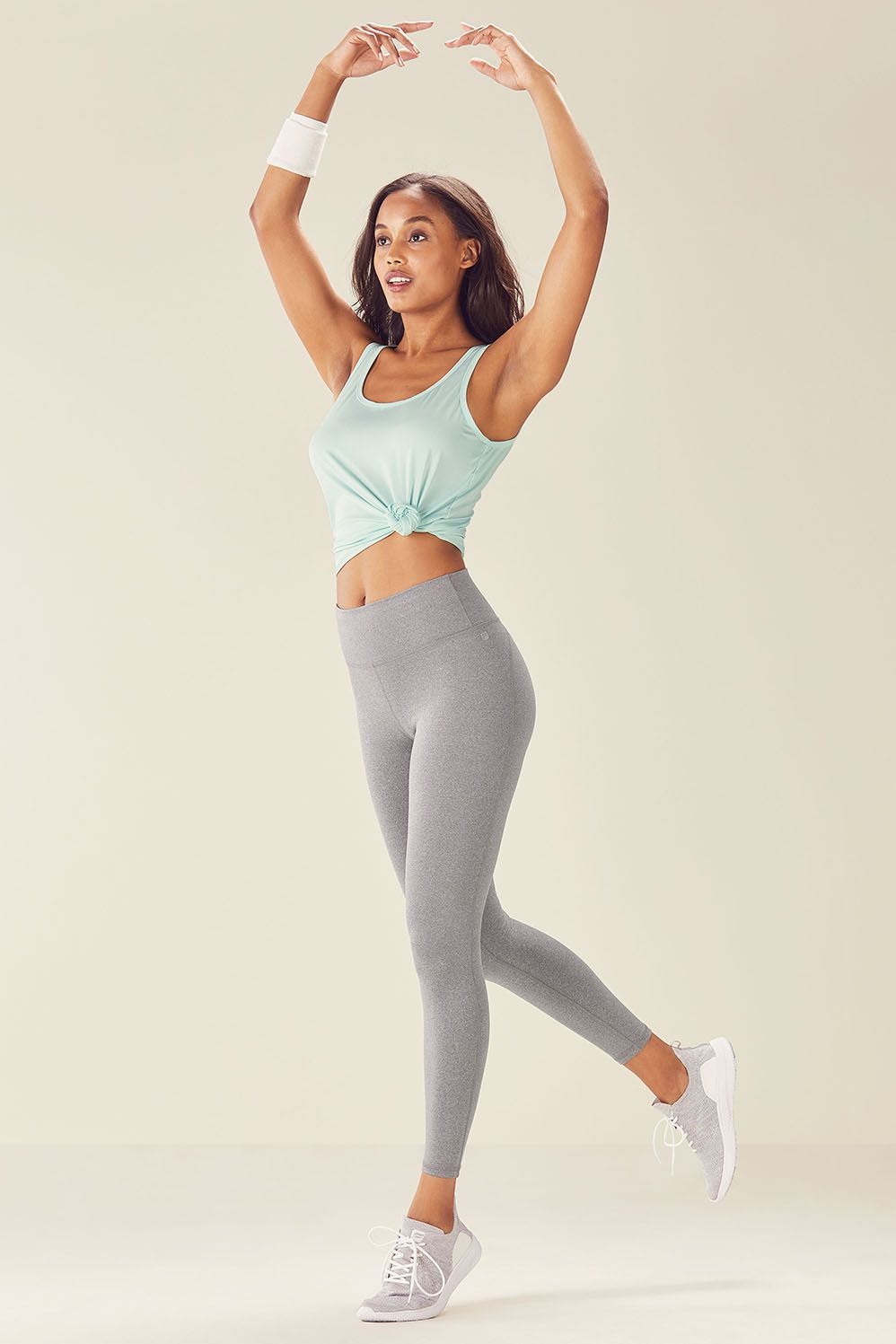 Fabletics Oda Womens GreenGray One Size Fits Most | Ladies