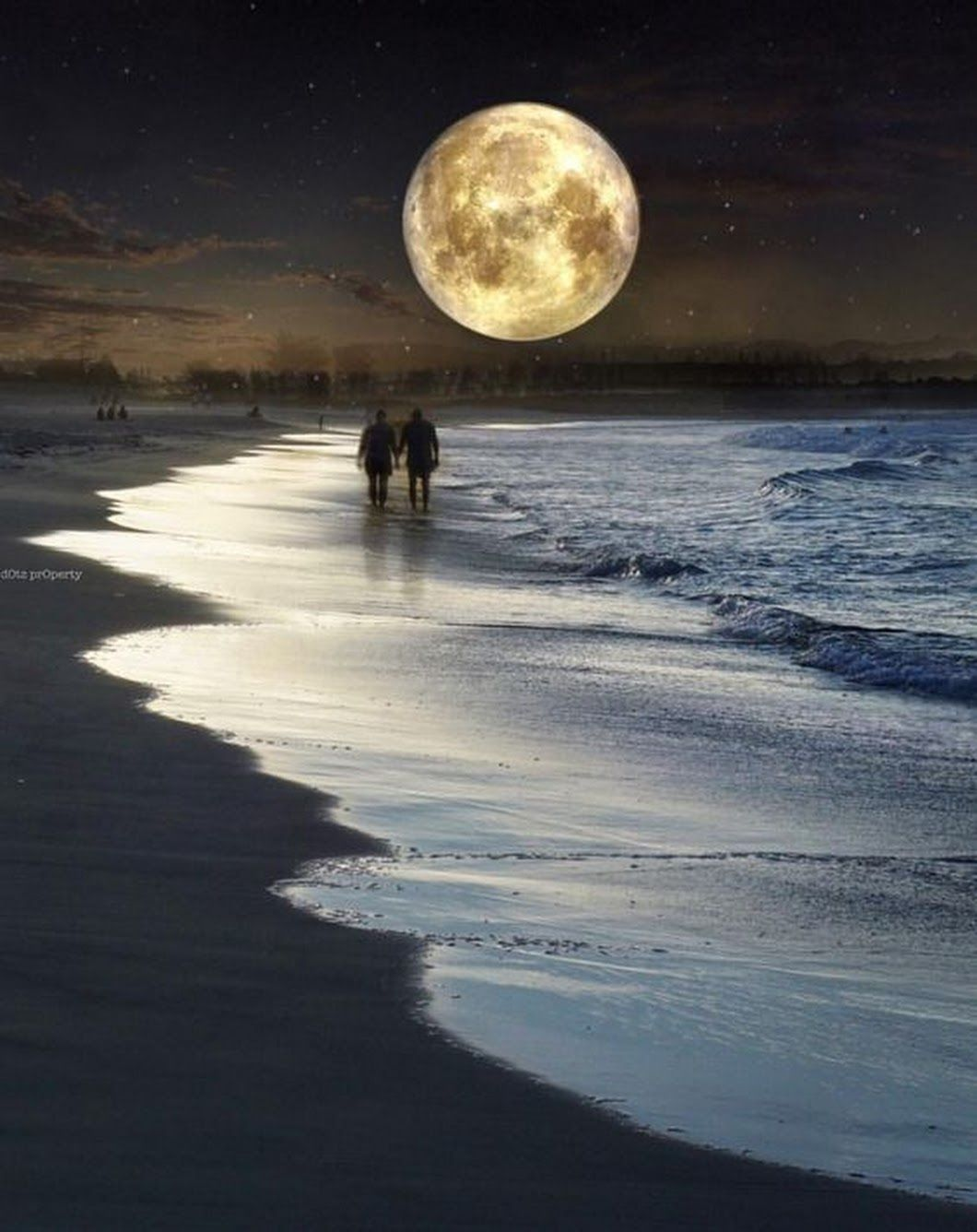 Good Night With Images Beautiful Moon Moon Painting