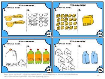 Measurement Activities   Measurement activities, Math task ...