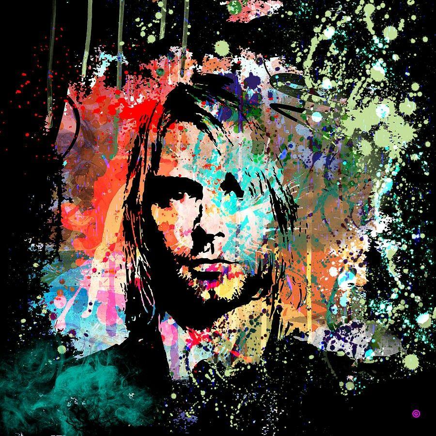 Kurt Cobain Artwork.   M U S I C & B A N D S   Pinterest
