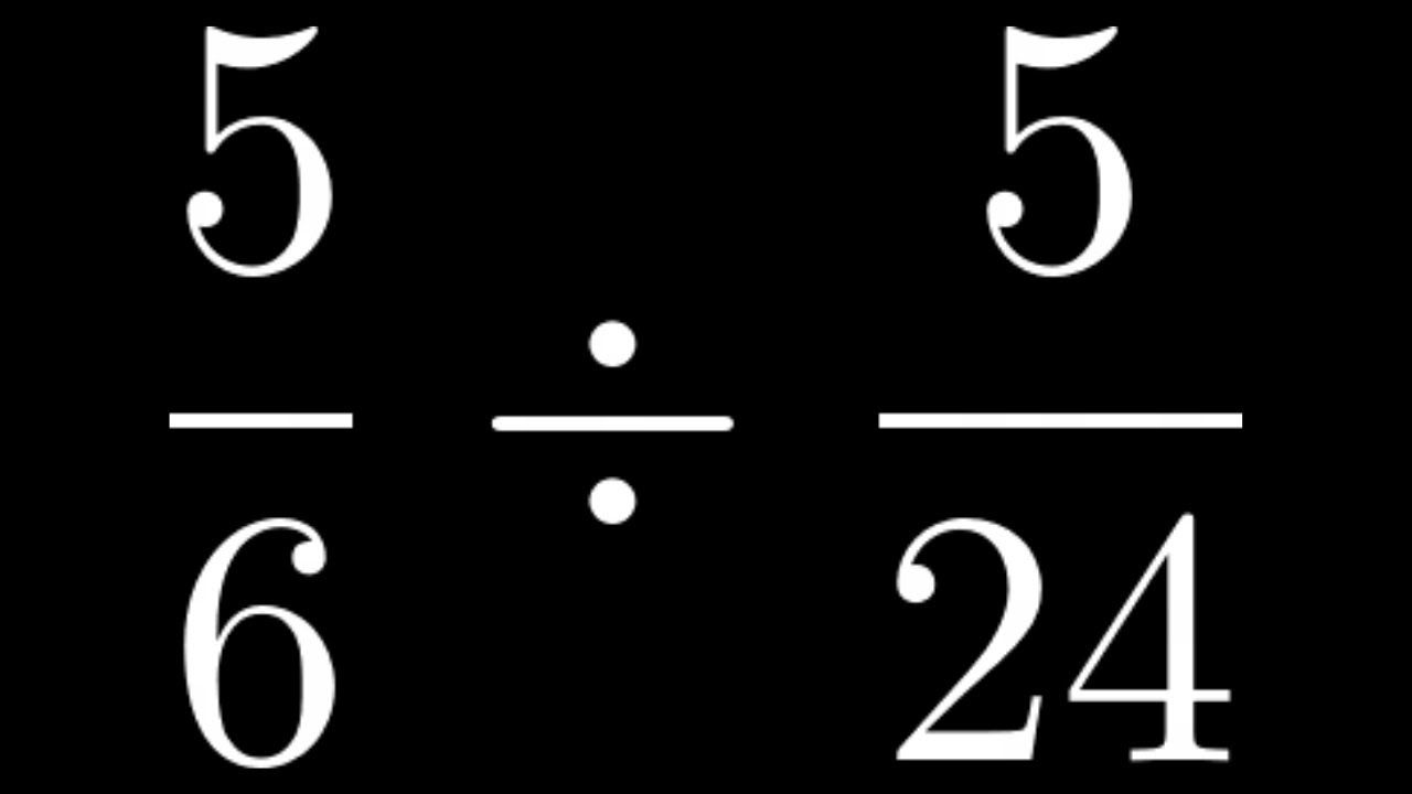 How to divide two proper fractions proper fractions