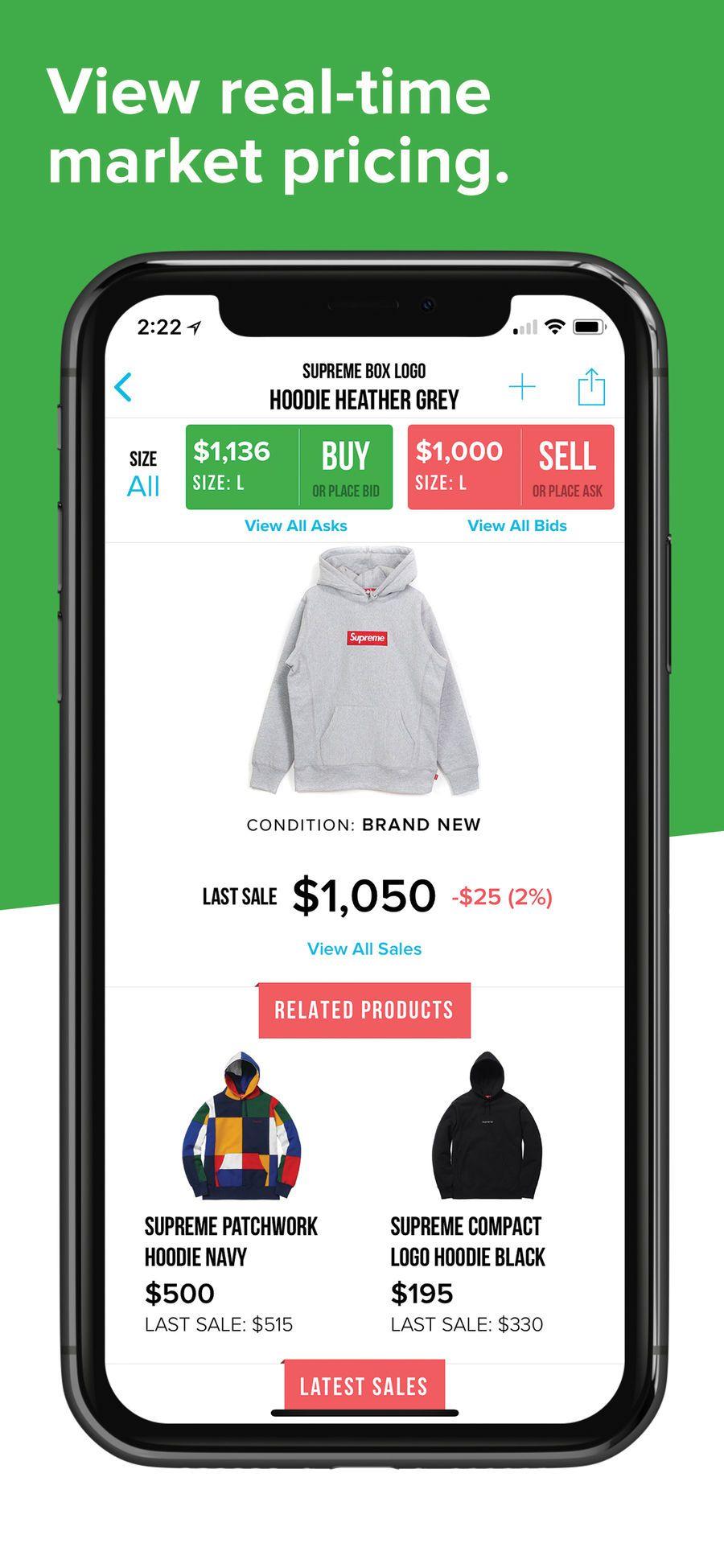 StockX Buy Supreme box logo hoodie, Box logo hoodie