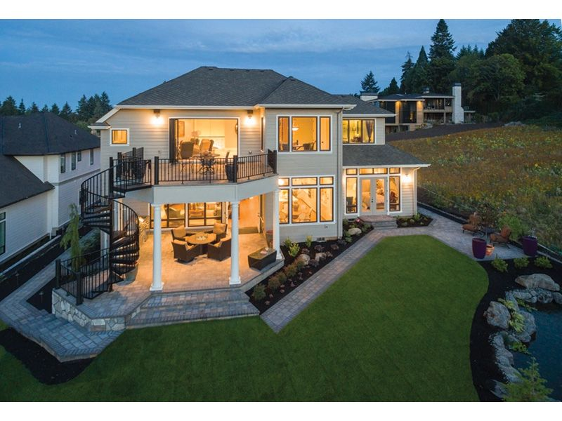 Rainier Bay Luxury Home House Plans And More Luxury House Designs Coastal House Plans