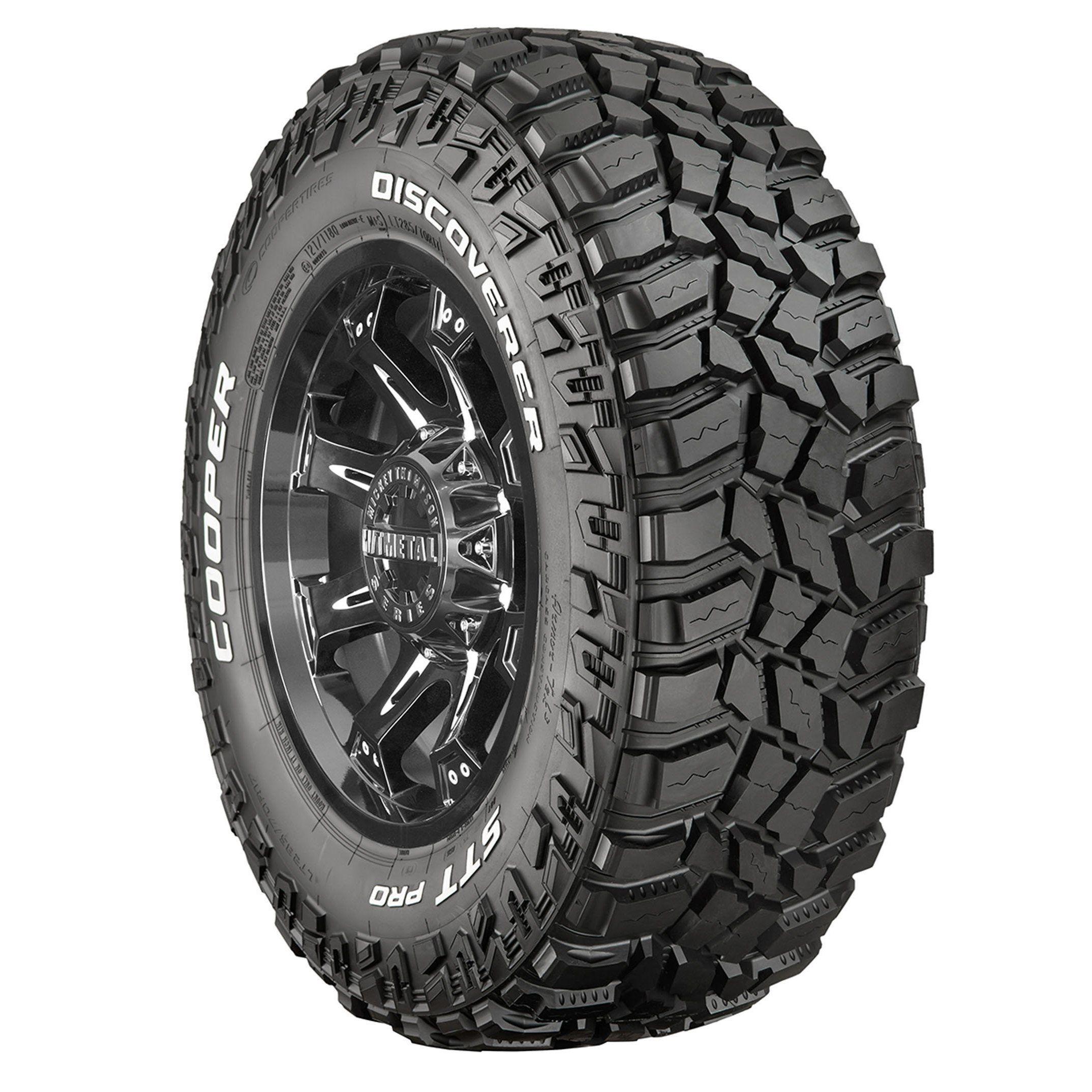 Cooper Discoverer STT Pro f Road Tire LT295 70R17 LRE 10 ply