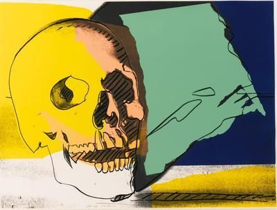 ANDY WARHOL | Skulls (F. & S. II.157-160)