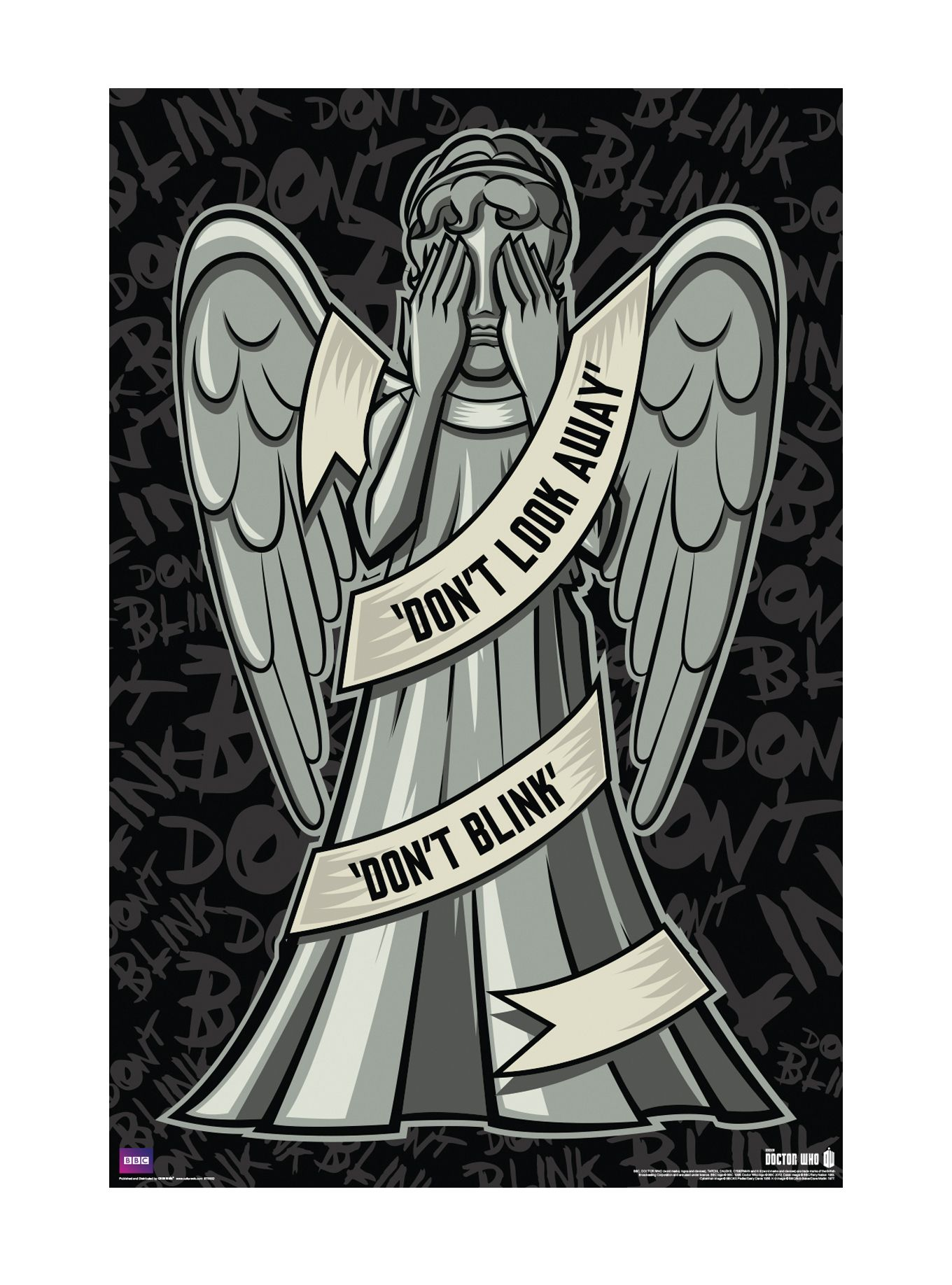 Doctor Who Weeping Angel Poster Angel posters, Doctor