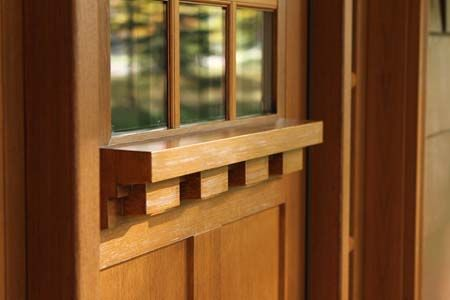 A Dentil Shelf Adds Charming Detail To This Clopay