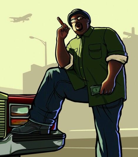 Grand Theft Auto San Andreas Big Smoke Artwork Com Imagens
