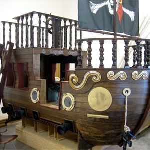 Pirate Ship Bedroom #Boys #Children | Pirate ship bed ...