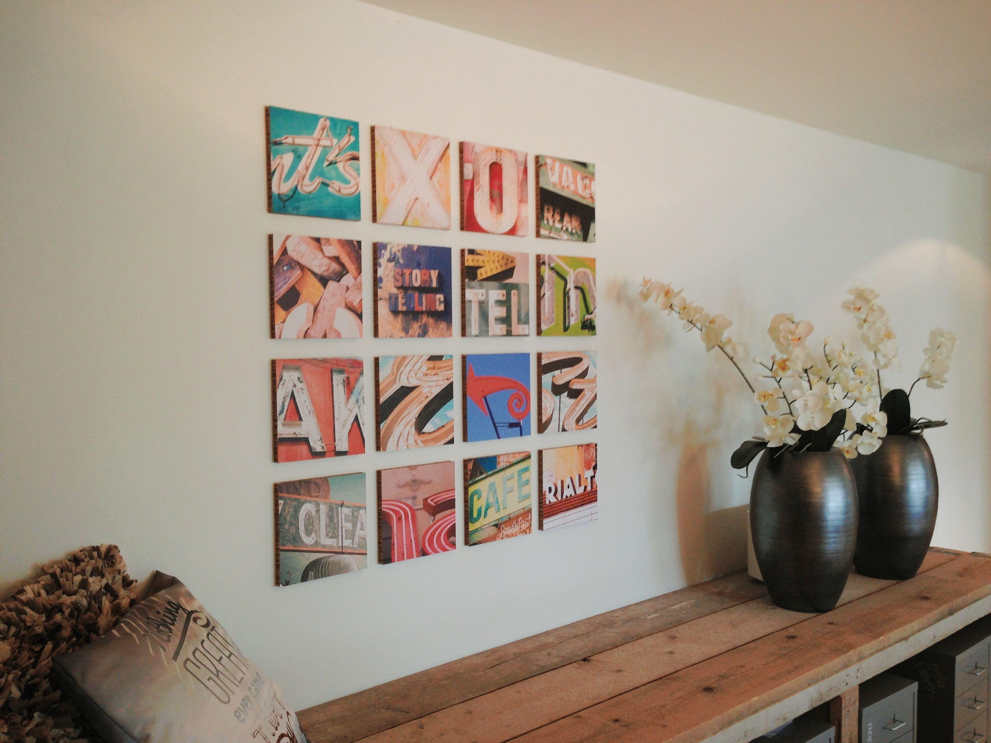 Ogu types de nieuwe lifestyle trend in wanddecoratie leuk idee