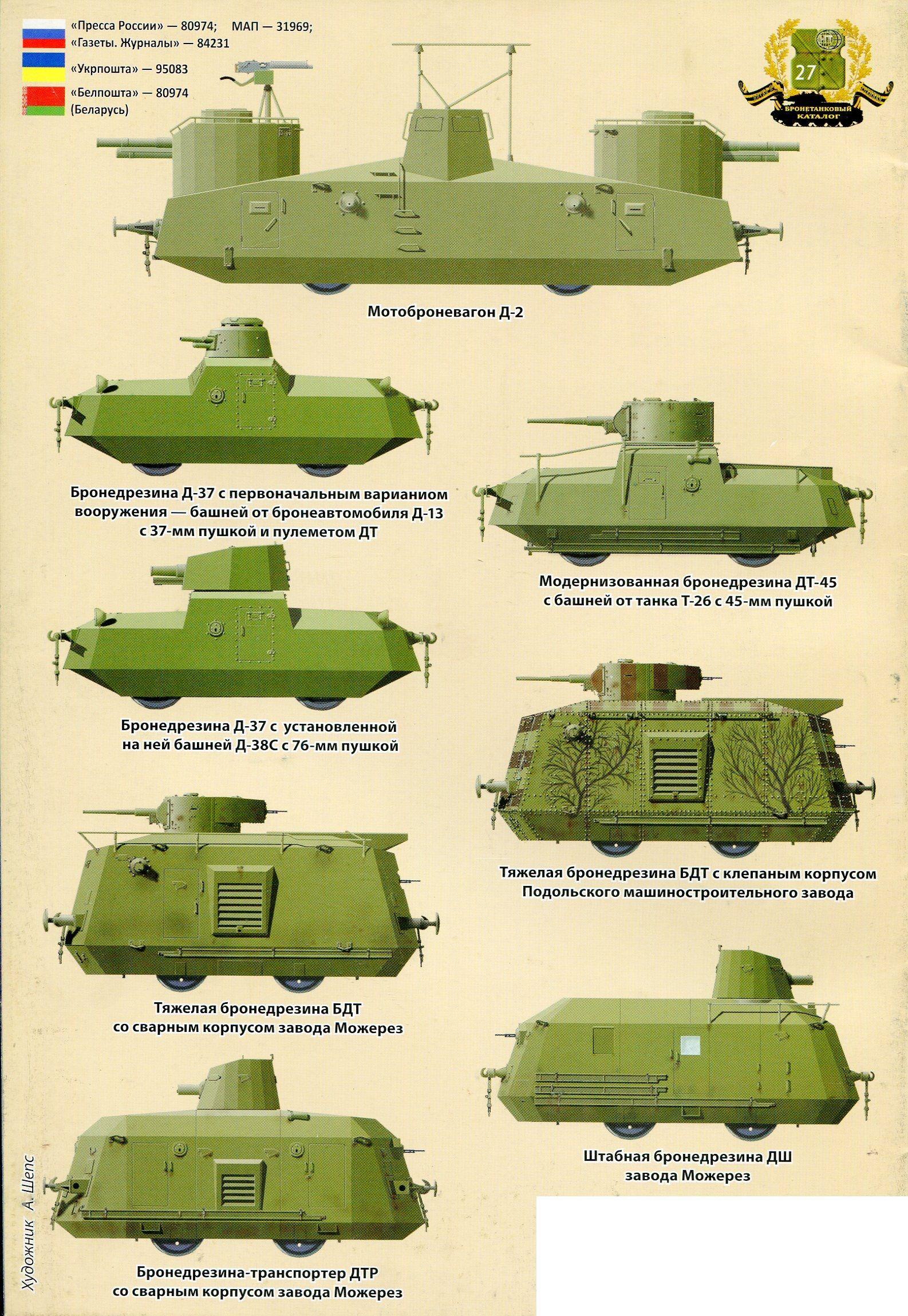 бронедрезина транспортер