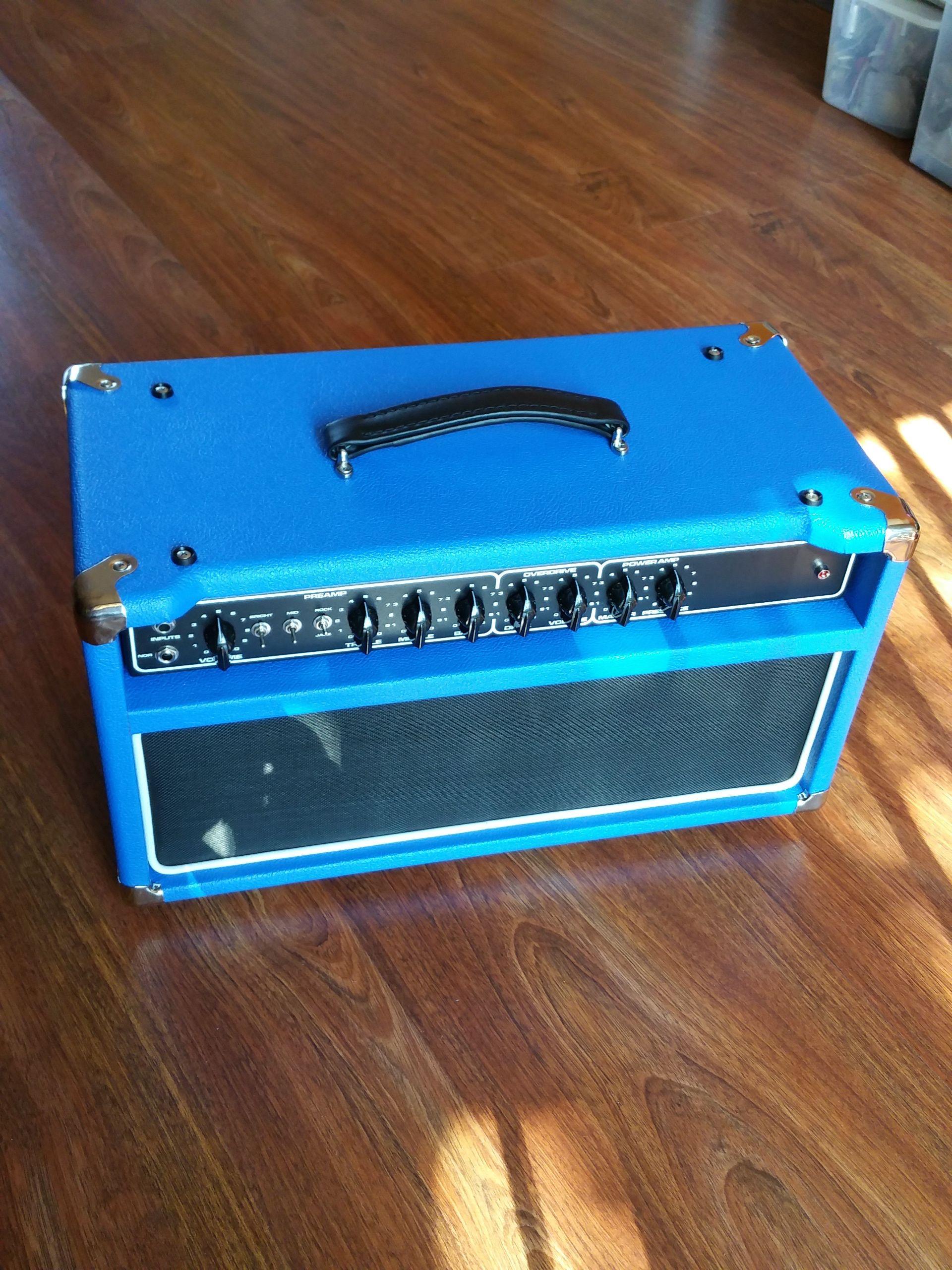 Dumble clone in blue | Tritone Amplification | Vacuum tube